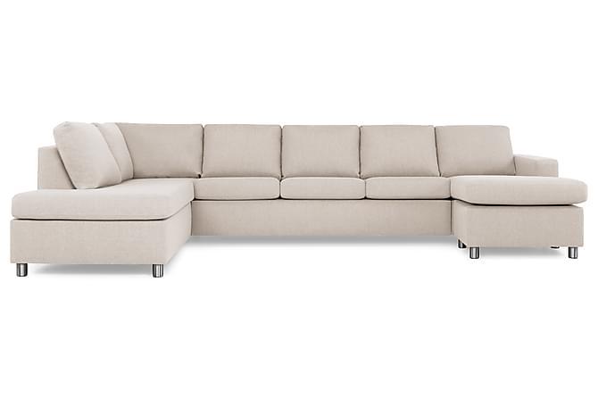 Crazy U-soffa XL Divan Höger - Beige - Möbler - Soffor - Divansoffor & U-soffor