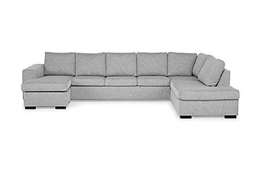 Link U-soffa XXL med Divan Vänster