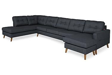 Monroe U-soffa Large med Divan Höger