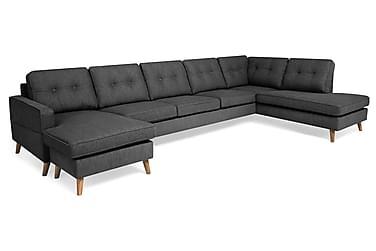 Monroe U-soffa Large med Divan Vänster