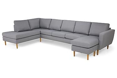 Nordic U-soffa Large med Divan Höger