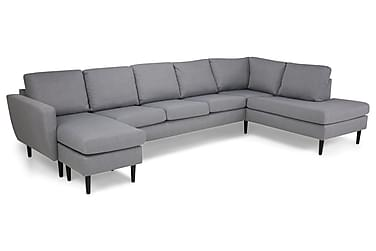 Nordic U-soffa Large med Divan Vänster