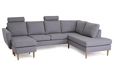 Nordic U-soffa med Divan Vänster