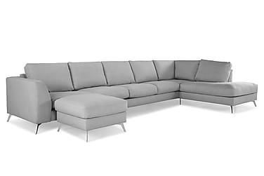 Ocean Lyx U-soffa med Divan Vänster