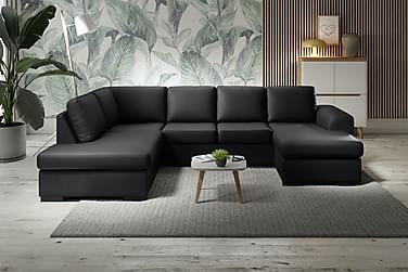 Ocean U-soffa Large med Divan Höger Konstläder