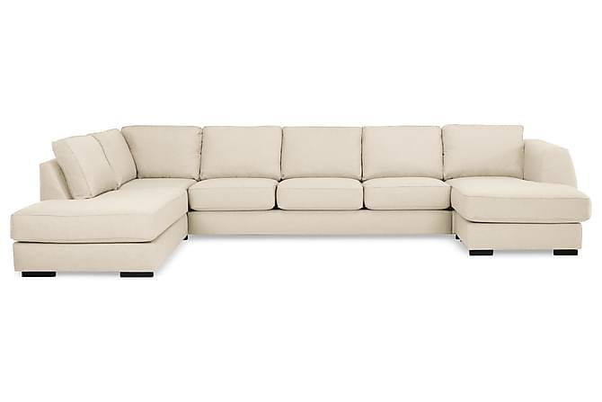 Optus U-soffa Large med Divan Höger - Beige - Möbler - Soffor - Divansoffor & U-soffor