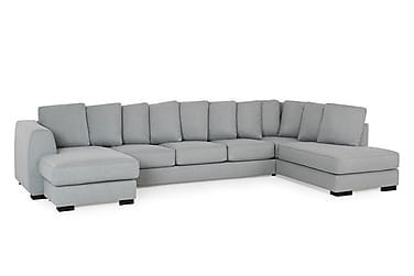 Optus U-soffa Large med Divan Vänster inkl Kuvertkuddar