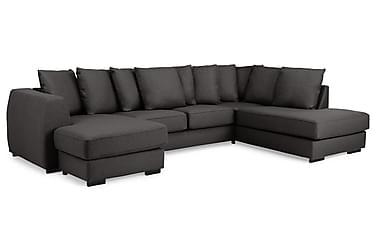 Optus U-soffa med Divan Vänster inkl Kuvertkuddar