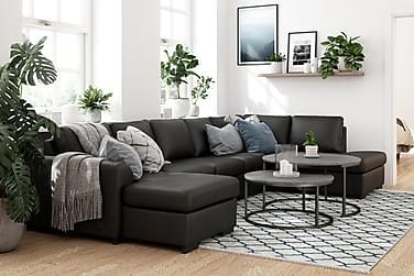Porto U-soffa Large Höger Konstläder