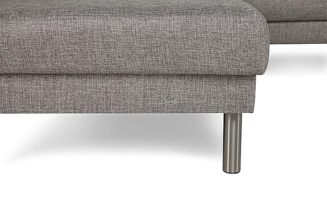 Runsala U-soffa med Divan Höger - Ljusgrå - Möbler - Soffor - Divansoffor & U-soffor