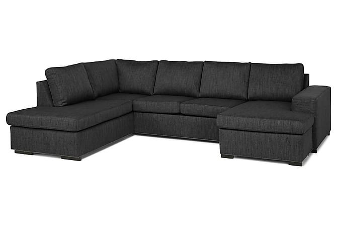 Omtyckta Wash U-soffa med Divan Höger - Mörkgrå | Trademax.se RV-88