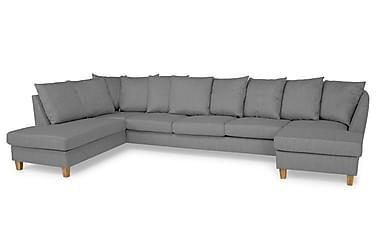 Wave U-soffa Large med Divan Höger inkl Kuvertkuddar