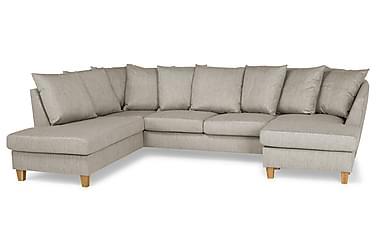 Wave U-soffa med Divan Höger inkl Kuvertkuddar
