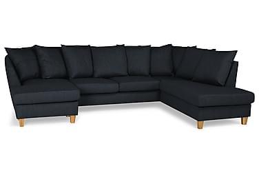 Wave U-soffa med Divan Vänster inkl Kuvertkuddar