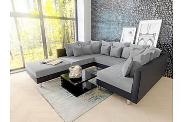 Claudia U-soffa & Puff