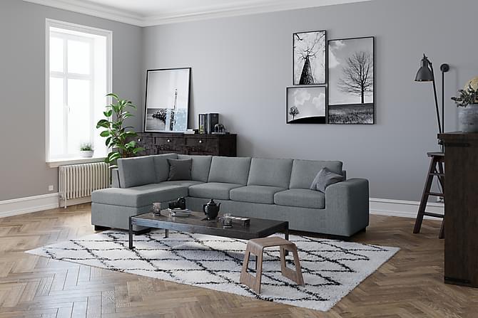 Link Hörnsoffa Vändbar - Ljusgrå - Möbler - Soffor - Hörnsoffor