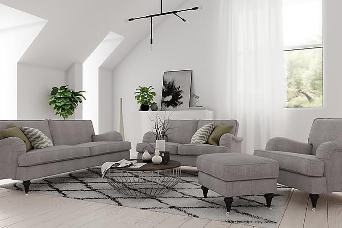 Howard Classic 2-sits Soffa - Grå/Brun - Möbler - Soffor - Howardsoffor