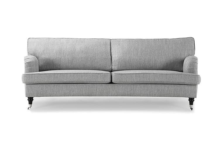 Howard Classic 2,5-sits Soffa Svängd - Ljusgrå - Möbler - Soffor - Howardsoffor