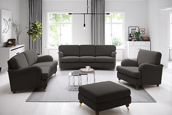 Howard Lyx 3-sits Soffa Svängd - Mörkgrå - Möbler - Soffor - Howardsoffor