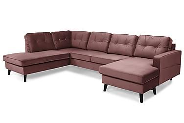 Monroe U-soffa med Divan Höger Sammet