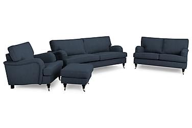 Howard Classic Soffgrupp 2-sits+3,5-sits+Fåtölj+Fotpall