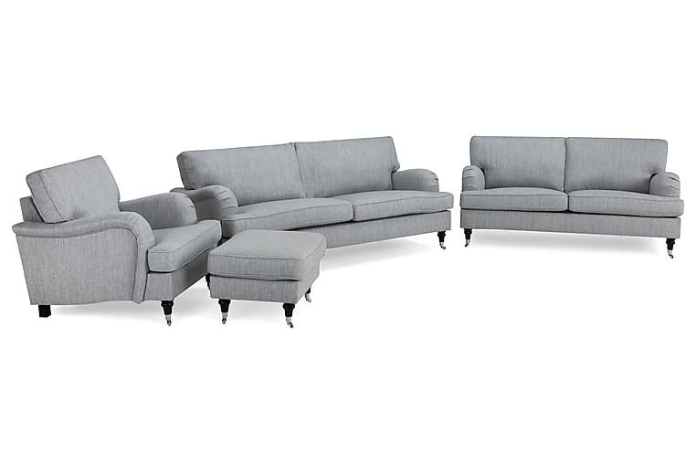 Howard Classic Soffgrupp 3,5-sits+3-sits+Fåtölj+Fotpall