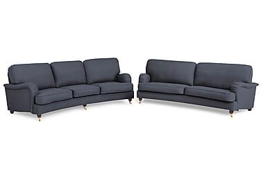 Howard Lyx Soffgrupp Svängd 4-sits+3-sits