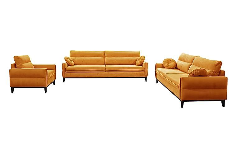 Yalungu Soffgrupp - Orange - Möbler - Soffor - Soffgrupp