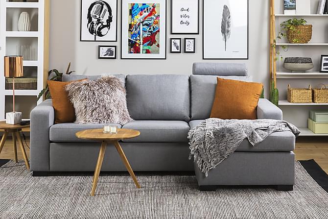 Crazy nackstöd - Ljusgrå - Möbler - Soffor - Sofftillbehör