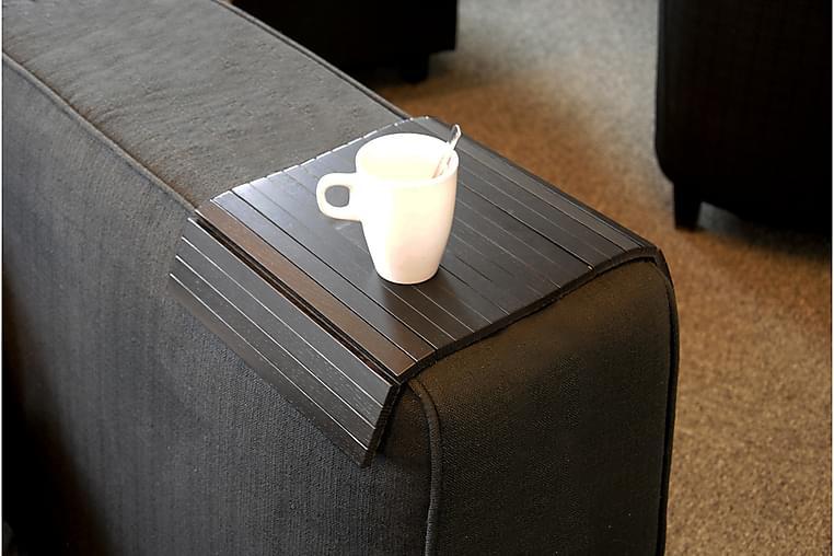 Row Armstödsbricka - Svart - Möbler - Soffor - Sofftillbehör