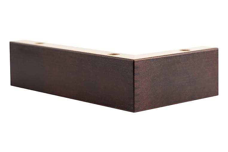 Soffben Modell H 5 cm 4-Pack - Brun - Möbler - Soffor - Sofftillbehör