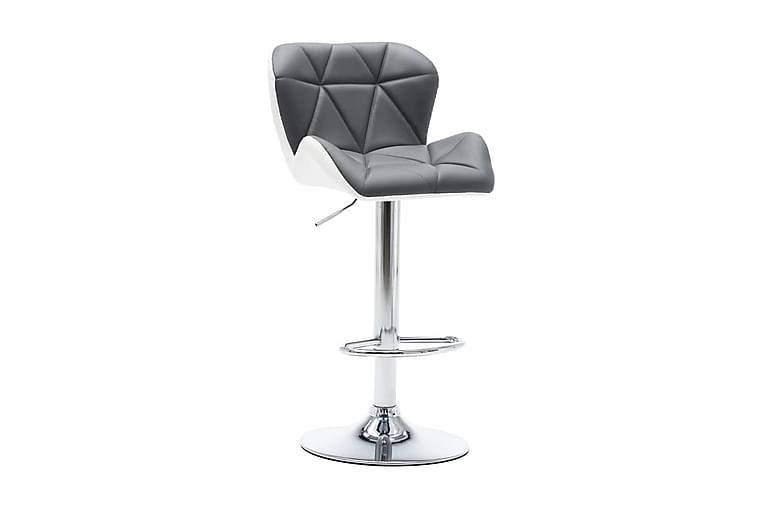 Barstol grå konstläder - Grå - Möbler - Stolar - Barstol