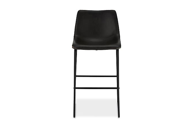 Indiana Barstol Konstläder - Svart - Möbler - Stolar - Barstolar