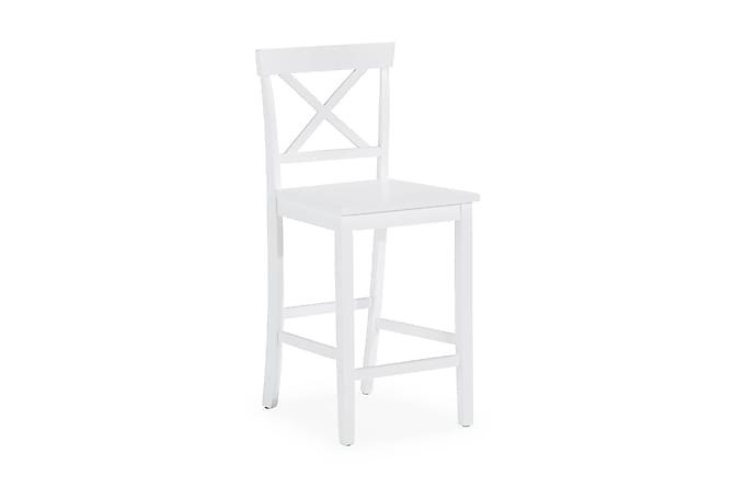 Plemona Barstol - Vit - Möbler - Stolar - Barstolar