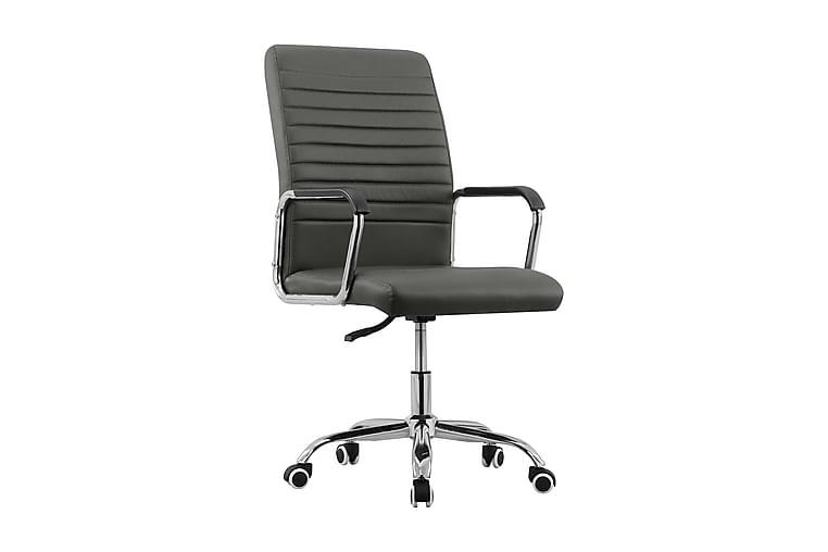 Snurrbar kontorsstol antracit tyg - Antracit - Möbler - Stolar - Kontorsstol & skrivbordsstolar