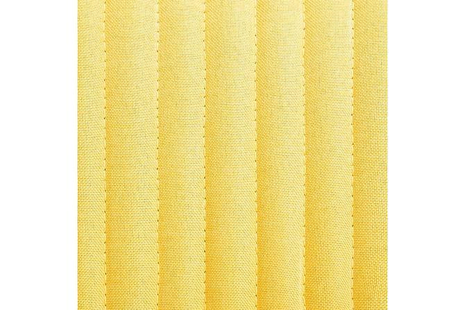 Matstolar 6 st gul tyg - Gul - Möbler - Stolar - Matstolar & köksstolar