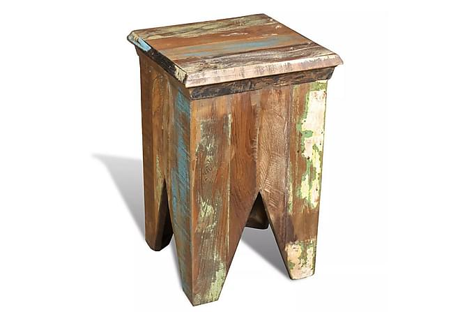 Pall återvunnet trä antik stil - Möbler - Stolar - Pall