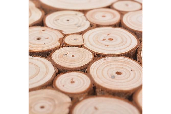 Pall i äkta trä 30x30x40 cm - Möbler - Stolar - Pall