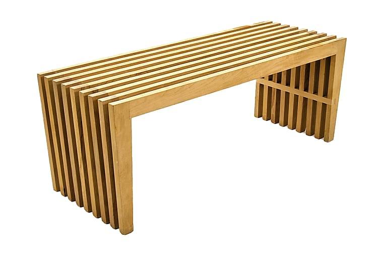 Massive Design Sittbänk Ribbad - Trä - Heminredning - Småmöbler - Sittbänk