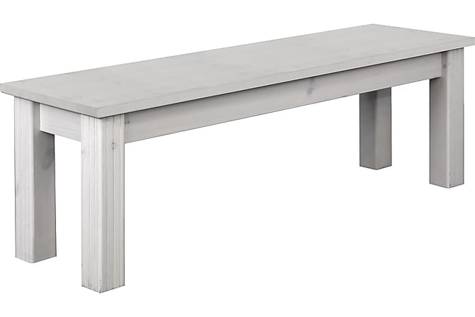Monaco Avlastningsbord 140 cm - Vit - Möbler - Stolar - Sittbänkar