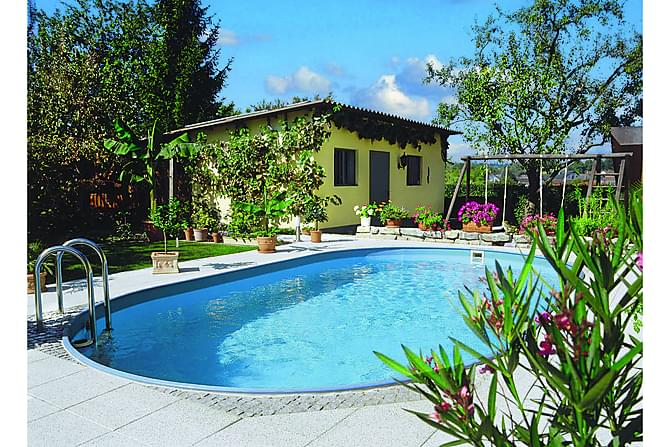 exklusiv oval pool nedgr vd 623x360x120 cm. Black Bedroom Furniture Sets. Home Design Ideas