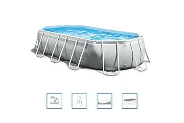 Intex Prism Frame Pool Oval 503x274x122 cm