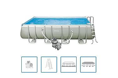 Intex Rektangulär Pool Ultra Set 549x274x132 cm