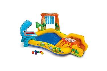 Intex Uppblåsbar Pool Dinosaur Play 191 cm