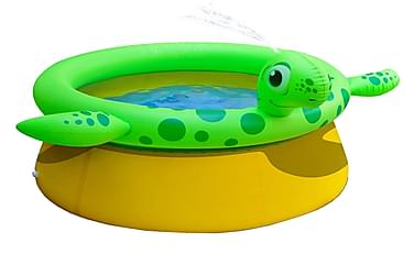 Jilong Uppblåsbar pool sköldpadda 175x62 cm 1270 L