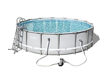 Power Steel™ Frame Pool Set  Ø 488 x 122 cm