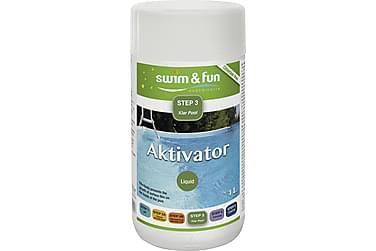 Aktivator 1 liter Algmedel Anpassat för Aktivt Syre o Combit