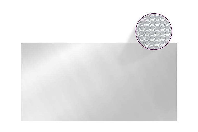 Poolskydd silver 600x300 cm PE - Silver - Pool & spa - Pooltillbehör - Övrig pooltillbehör
