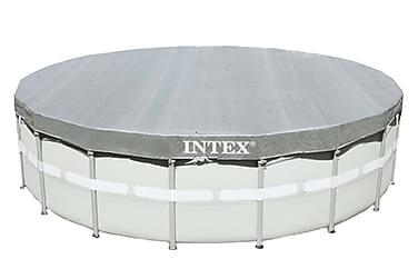Intex Poolöverdrag Deluxe Runt 488 cm