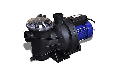 Poolpump elektrisk 1200 W blå